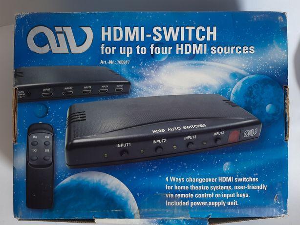 Rozdzielacz HDMI switch