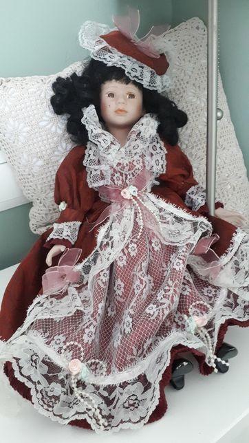 Stara porcelanowa lalka