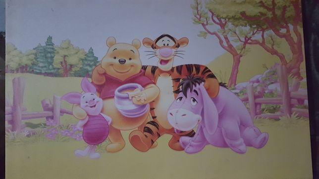obraz kubus puchatek i przyjaciele