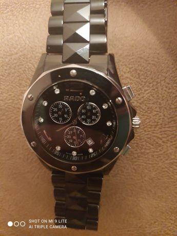 Часы кварцевые на керамике RADO jubile стекло сапфир