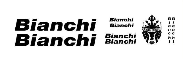 Bianchi autocolantes bicicleta