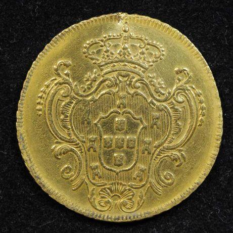 Moeda ouro peça D. Maria I 1800