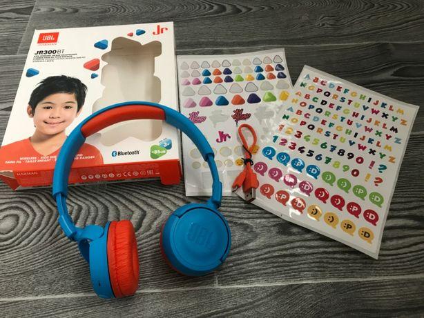 Дитячі навушники JBL JR300BT Rocker Blue