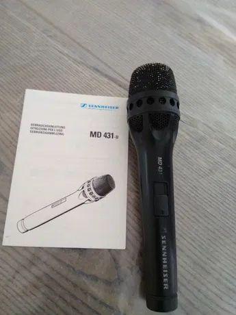 Вокальный микрофон Sennheiser MD 431-II