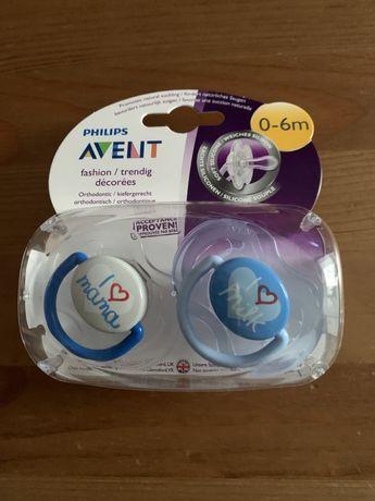 Philips AVENT nowe smoczki ortodontyczne 0-6 miesiecy