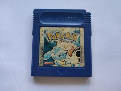 Jogo Pokemon Blue para game boy color ou gameboy advance da nintendo