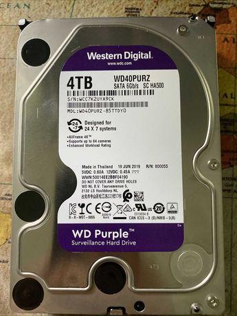 Продам WD Purple 4 терабайта