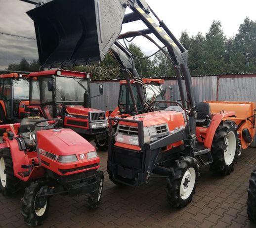 Traktor ogrodniczy 25 KM Kubota GL25 z oryginalnym ładowaczem 400 kg