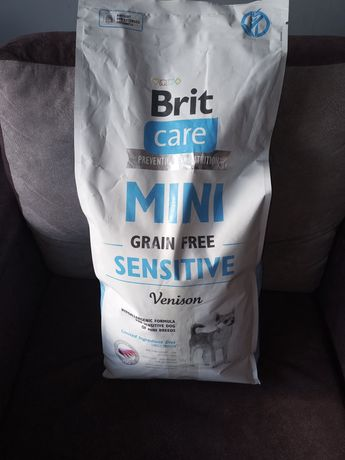 BRIT CARE MINI GRAIN FREE SENSITIVE 1kg sucha karma dla psa (male rasy