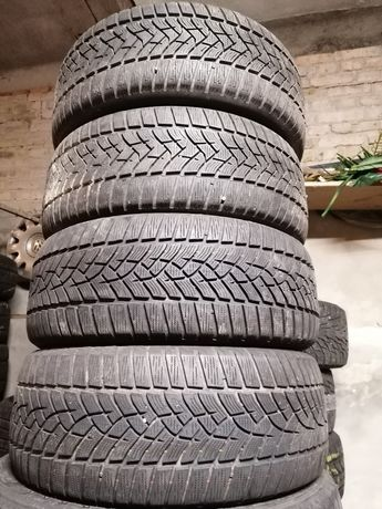 225/55r16 зимние шины бу Goodyear Dunlop