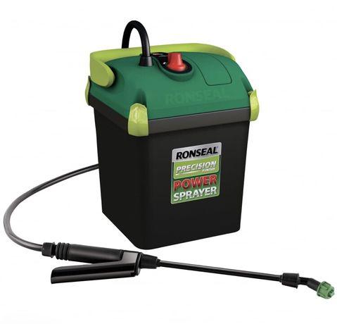PISTOLET Opryskiwacz Automatyczny Ronseal 5l Cuprinol na Baterie Bejca