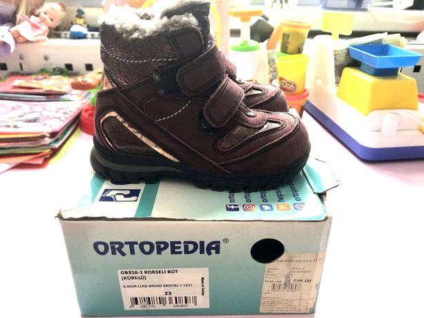 Зимние ботинки Ортопедия 23 р