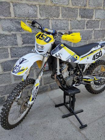 Husqvarna 450  хард ендуро эндуро мотоцикл