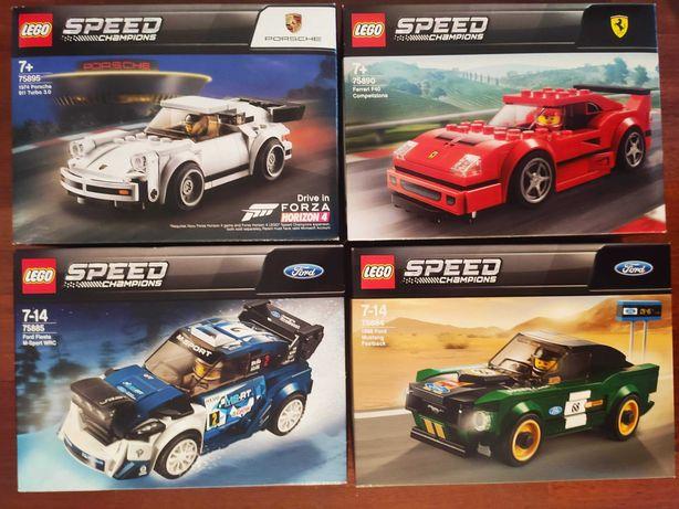 Vários Lego Speed Champions 75892 Mclaren Senna Lamborghini Chevrolet