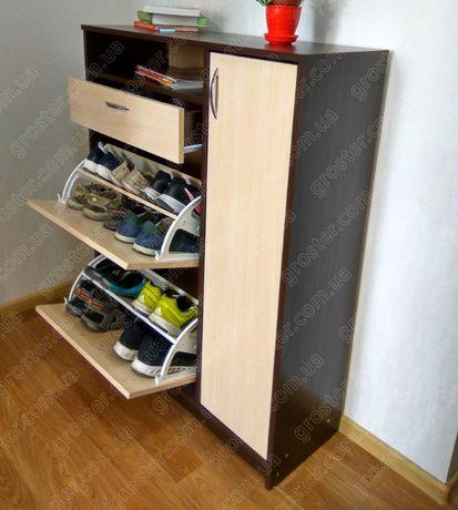 Вместительная тумба для обуви Т - 5. Обувница
