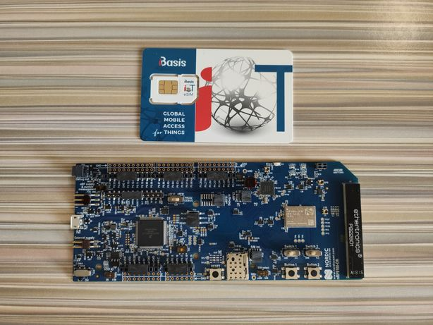 Nordic NRF9160-DK  LTE-M,NB-IoT и GPS ARM Cortex-M33