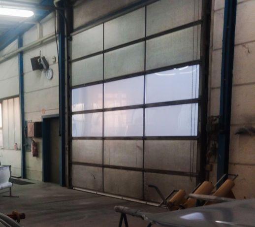 Drzwi, Brama przemysłowa, warsztatowa, panelowa komplet 4,20x4,00