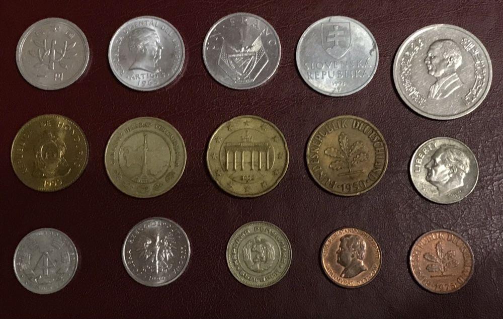 Монеты стран мира/комплект (15) штук! Полтава - изображение 1