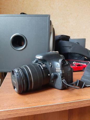 Продам фотоаппарат Canon 600d + сумка. Возможен обмен