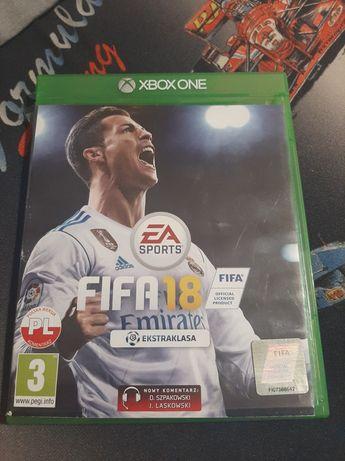 FIFA 18  PL xbox one