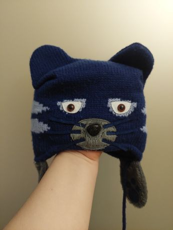Зимова шапочка для хлопчика