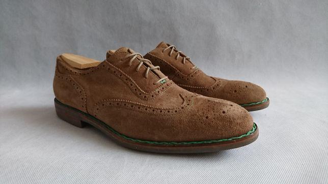 Туфли мужские броги Оксфорды Giorgio Размер 45 -29 см