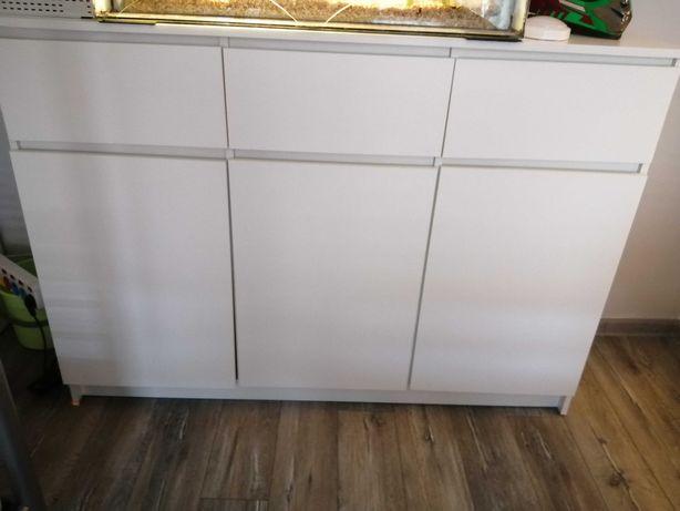 Komoda biała 140x40x60