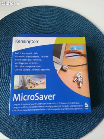 NOWA Blokada laptopa na klucz MicroSaver Kensington 64020