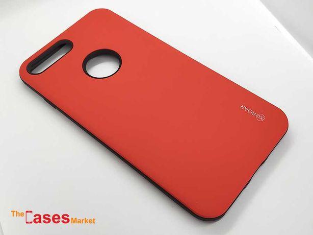 Capa anti-choque vermelha iPhone 7 / 8 Plus
