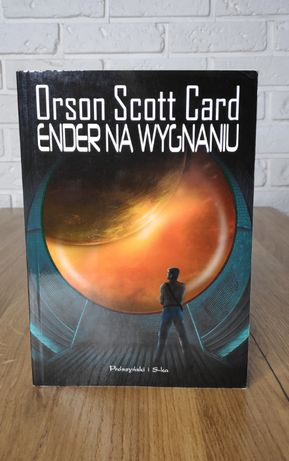Książka Sci-Fi - Ender na Wygnaniu - Orson Scott Card - rzadkość!