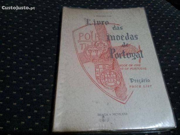 Livro das moedas de Portugal - J. Ferraro Vaz