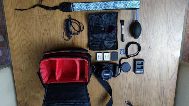 Canon Eos 200d + Tripé