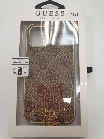 Etui GUESS iPhone 12 / 12 Pro GUHCP12MGF4GBR 4G Charms Collection