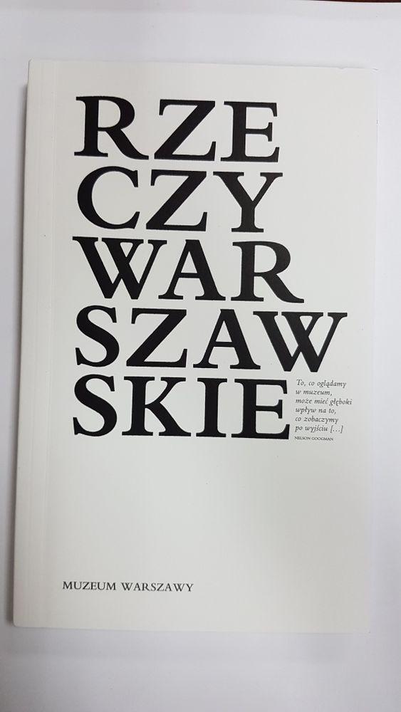 Rzeczy warszawskie Muzeum Warszawy Warszawa - image 1