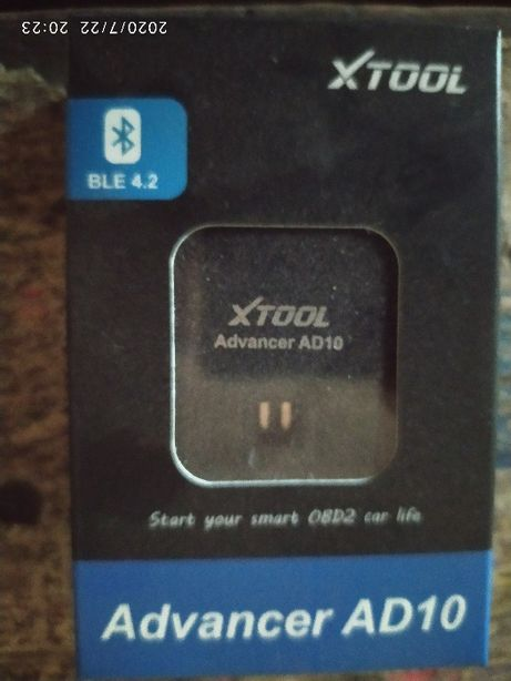 Автосканер Xtool Advancer AD10 bluetooth 4.2