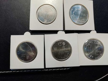Moedas de euro coleção