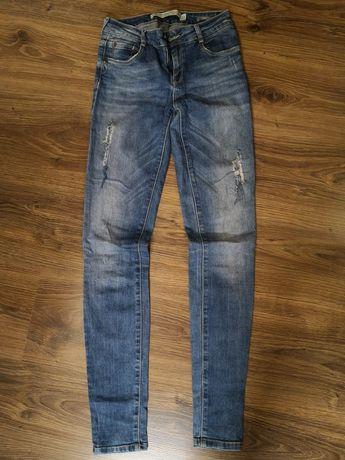 Spodnie Jeansy Zara r. 34