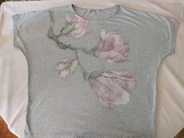 Bluzka krótki rękaw r 46 magnolia