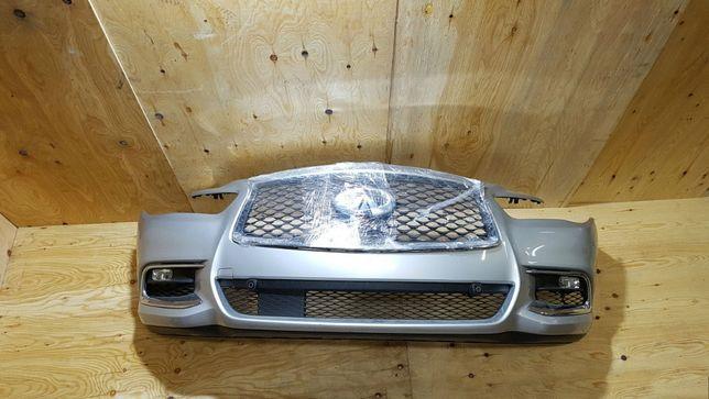 Infiniti QX60 бампер в сборе, фары, капот, крылья, усилитель,телевизор