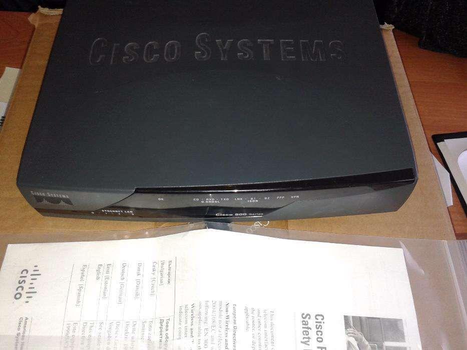 Router Cisco model 870