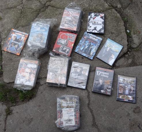 Filmy DVD i CD kolekcje kolo 100 sztuk