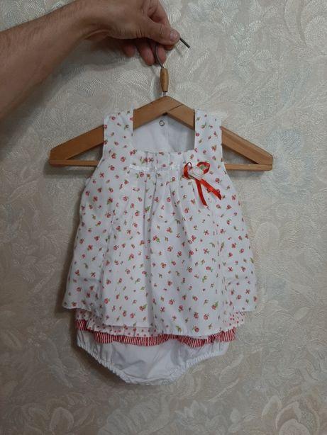 Продам песочник ромпер платье летнее на девочку