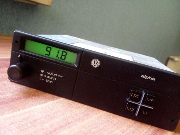 Zabytkowe radio VW Alpha polo golf passat T2 T3 Scirocco garbus