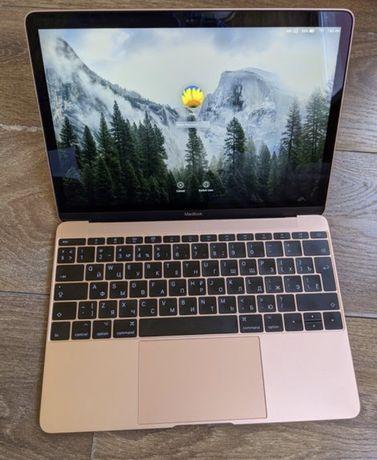 Macbook 12,  2017 rose gold идеал