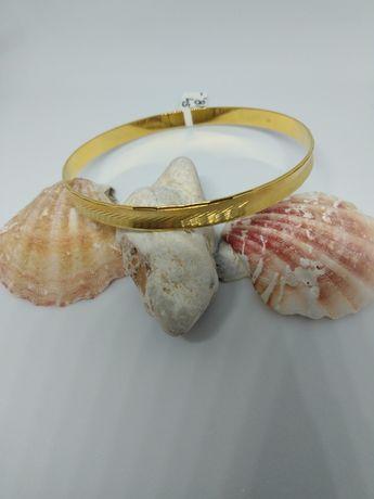 Złota bransoletka koło, złoto 333