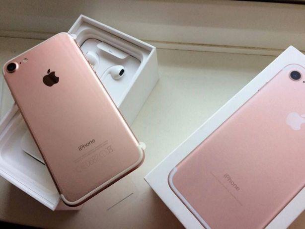 Оригинальный IPhone 7 7 plus 7+ 32ГБ Rose Gold Red новый подарки