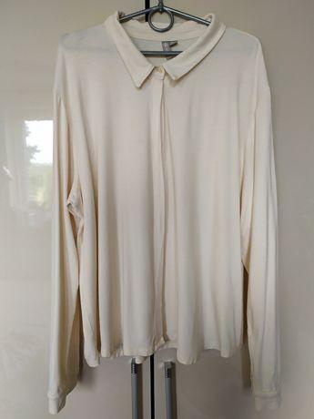 Koszula krem elastyczna ASOS 48/50