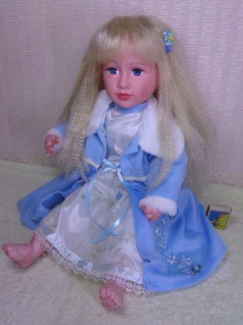 Большая кукла 57см, с волосами