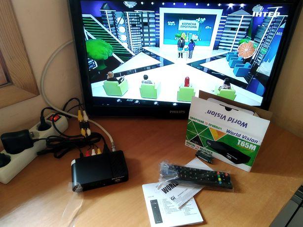 T2 приемник World Vision T65(m) (DVB-Т2 приемник, приставка)