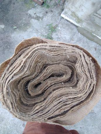 Рулон мешковой ткани